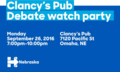 Clancy's Pub debate watch party.png