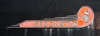 South African Class 15F 4-8-2 - Kroonstad nameplate, now on Class 23 no. 3300