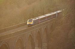 Class 43 on Forder viaduct (9377).jpg