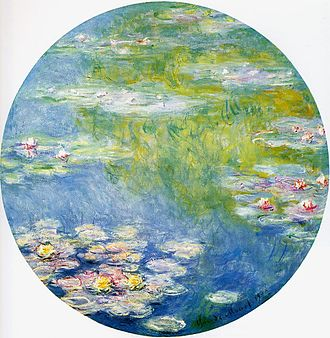 Water Lilies (Monet series) - Water-Lilies, 1908, Dallas Museum of Art