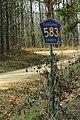 Cleburne CR 583 Sign (33190993613).jpg