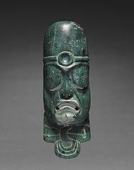 Elongated Mask Ornament