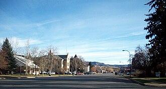 Coalville, Utah - Coalville Main Street, 2008