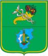 Coat of Arms of Zolochivskiy Raion in Kharkiv Oblast.png