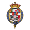 Coat of arms of Aubrey de Vere, 20th Earl of Oxford, KG.png