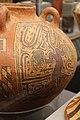 Coclé (panama), vaso in stile macaracas, con divinità o alligatore, 850-1100 dc ca. 03.jpg