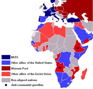 History of Western Sahara - Cold War Allegiances in Africa, 1980