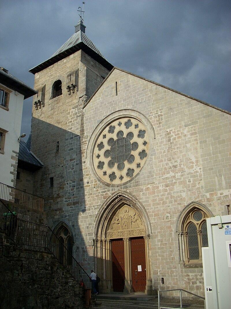 Colegiata de Santa María, Roncesvalles.JPG