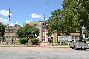 Coleman County Courthouse (2018), Coleman, TX.jpg