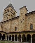 Collégiale St Pierre et St Gaudens-Clocher vue du Cloître.jpg