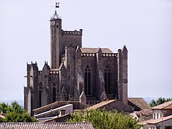 Collegiate Church, Capestang, France.jpg