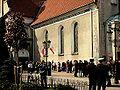 Collegiate Church in Wejherowo during mass celebrating victims of president's plane crash 2010 - 6.jpg