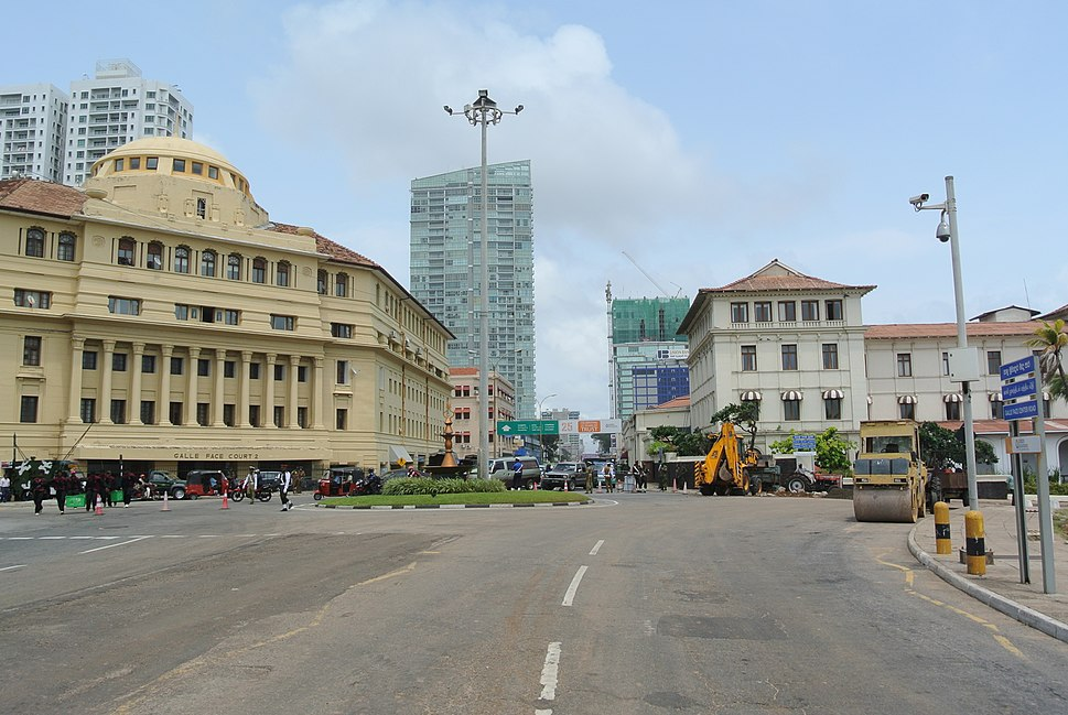 Colombo Galle Face Roundabout
