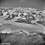 Columbia Glacier, West Branch, Valley Glacier Icefalls, August 25, 1969 (GLACIERS 1032).jpg