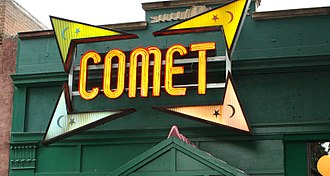 Pizzagate conspiracy theory - Image: Comet ping pong pizza pizzagate podesta brock