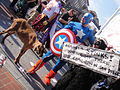 Comic-Con 2010 - Captain America, Super Skunk and Anaheim the Goat wants to Keep Comic-Con in San Diego! (4878688882).jpg