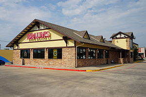 Braum's - Braum's location in Commerce, Texas