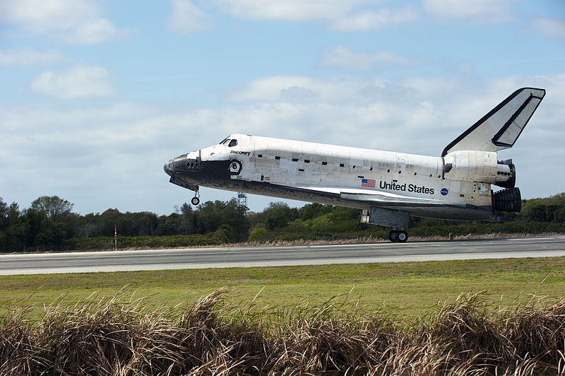 space shuttle landing discovery - photo #3