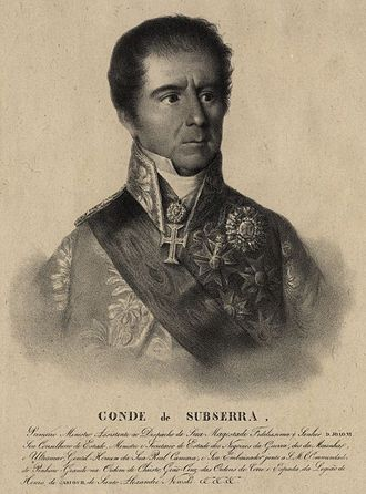 Corte-Real family - Image: Conde de Subserra