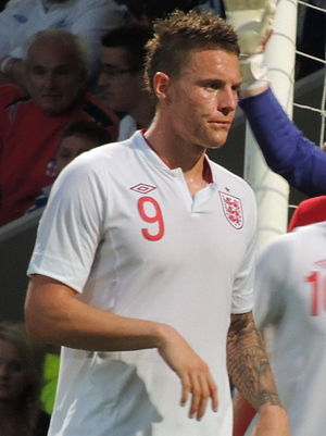 Connor Wickham - Wickham playing for England Under 21s in 2012