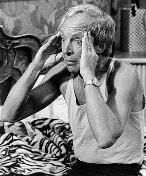 Conrad Bain - Bain as Arthur Harmon in Maude, 1975.