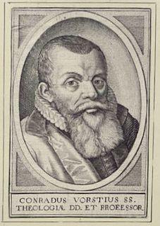 Conrad Vorstius Dutch theologian