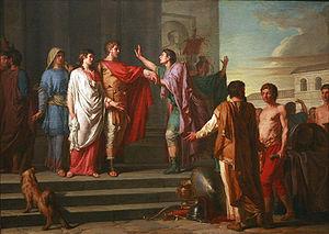 Scipio Africanus - Continence of Scipio, Nicolas-Guy Brenet