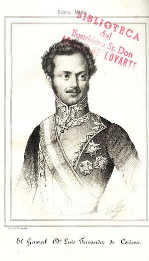 Fernández de Córdoba, Luis (1798-1840)