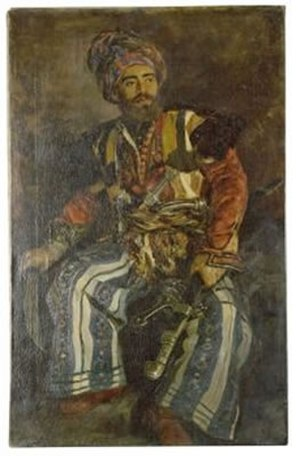The Cossacks (novel) - Portrait of a Cossack by Alexander Litovchenko