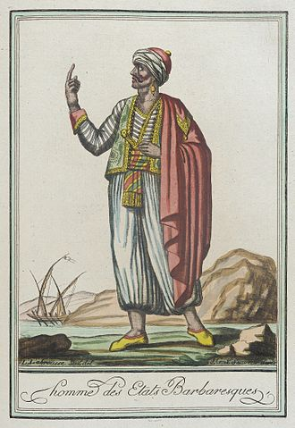 Barbary pirates - A man from the Barbary states