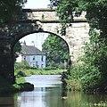 Cottage through the Bridge, Kent Green, Macclesfield Canal - geograph.org.uk - 567548.jpg