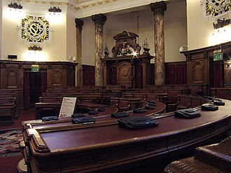 City Hall, Cardiff - Council Chamber