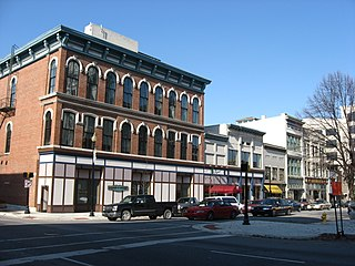 Downtown Lafayette Historic District United States historic place