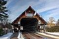 Covered bridge entrance, Frankenmuth, Michigan, 2015-01-11.jpg