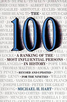 Covor of book (The 100 A Ranking of the Most Influential Persons in History).jpg