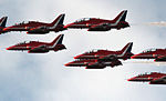 Cowes Week 2013 Red Arrows display 6.jpg