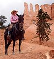 Cowgirl Guide, Mule Ride, Brice Canyon NP (5882123146).jpg