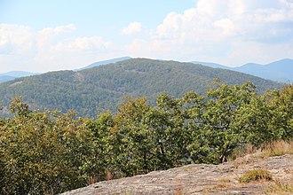 Cowrock Mountain - Cowrock Mountain viewed from Wildcat Mountain