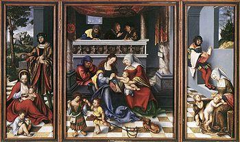 Torgau Prince Altar by Lucas Cranach the Elder  Ä.