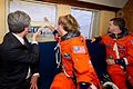 Crew of STS-135 shuttled to launch site.jpg