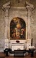 Cristofano allori, annunciazione dall'annunziata di firenze, entro altare con stemmi panciatichi, 01.jpg