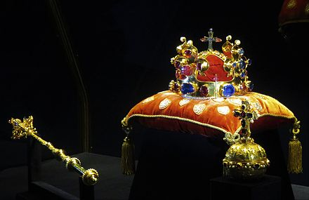 The Bohemian Crown Jewels are the fourth oldest in Europe CrownJewelsBohemia1.jpg