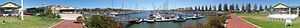 North Haven, South Australia - 360° panorama of the Cruising Yacht Club of South Australia, located at North Haven