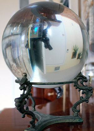 English: A crystal ball believed by some peopl...