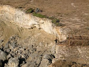 Rubén López Sabariego - This 2004 picture shows the cliff just beyond the western boundary of the Guantanamo Bay Naval Base, where Captain Arthur J. Jackson initially tried to dispose of Ruben Lopez's body.
