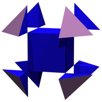 Octagram - Image: Cube truncation 3.50