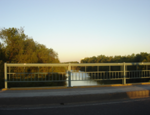 Culiacán River - Culiacan River in Mexico.