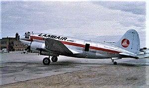 Lamb Air - Image: Curtiss C 46 Lambair