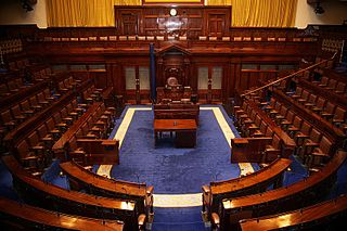 Lower house chamber of a bicameral legislature