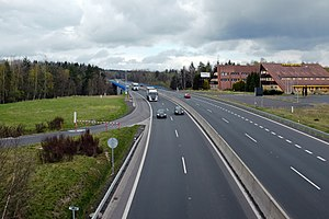 D6 motorway (Czech Republic) - Image: Dálnice D6 most u Sokolova (3a)